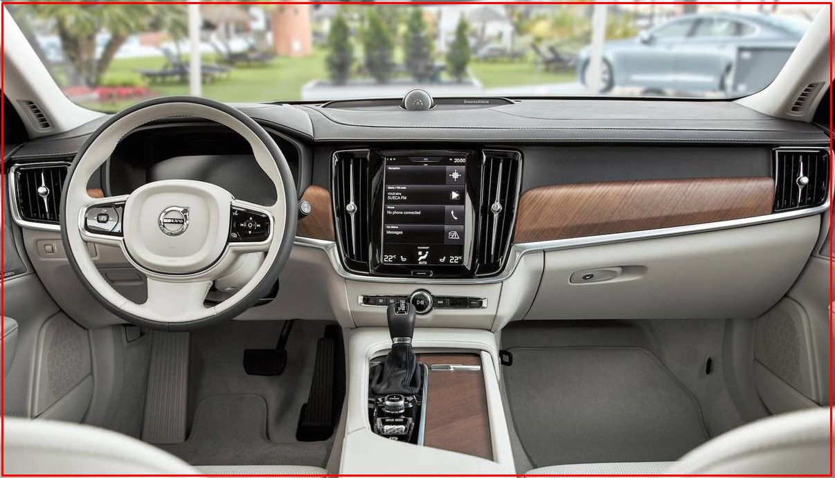 2021 Volvo S90 T8 Interior Design