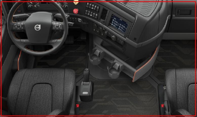 2021 Volvo VNL 860 Interior