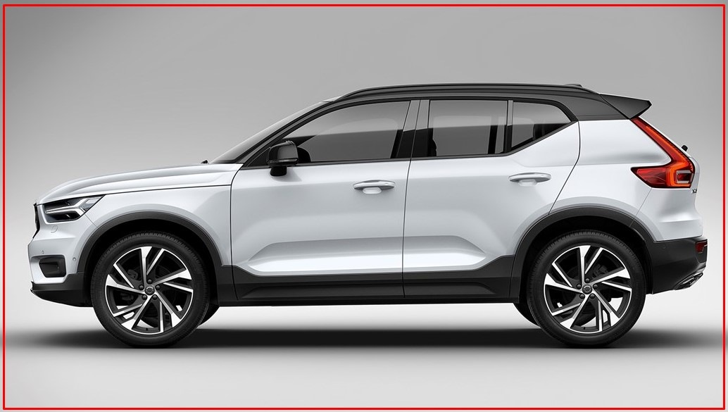 Photo of 2021 Volvo XC40 Previewed Design