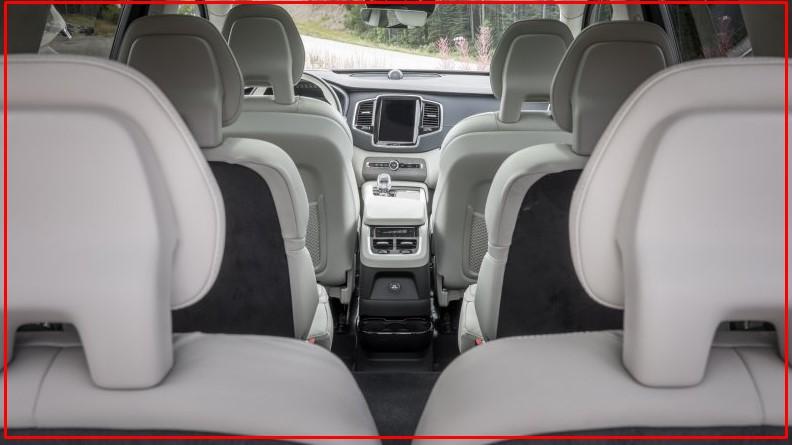 2021 Volvo XC90 Hybrid Interior