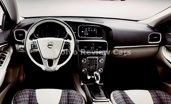 2022 Volvo V40 Interior Design